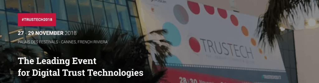 Trustech November 27 - 29, Cannes, France