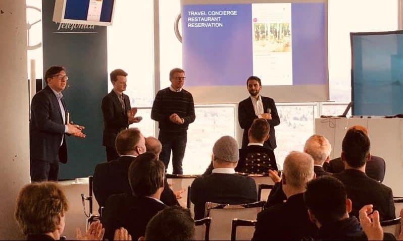 Dario Betti, MEF, Brian Brand, Vodafone, Martin Repp, DT, and Jan-Hendrik Stanetzek, Telefonica-O2