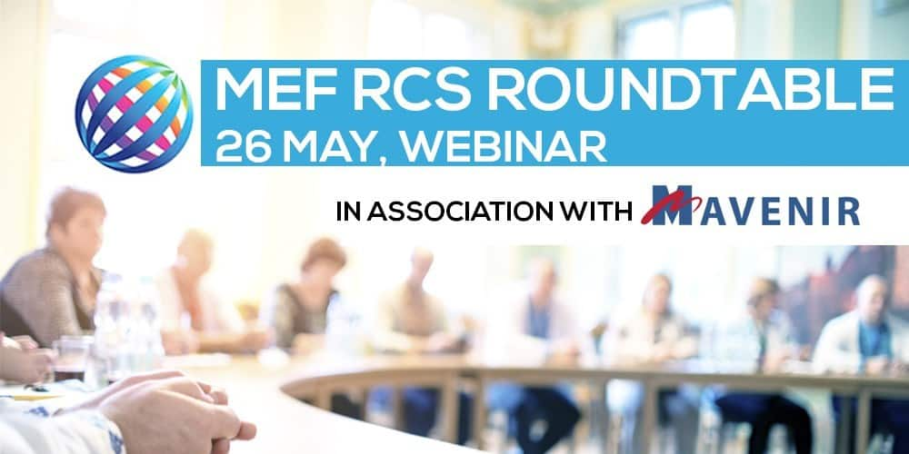 MEF RCS Roundtable UK - May 2020