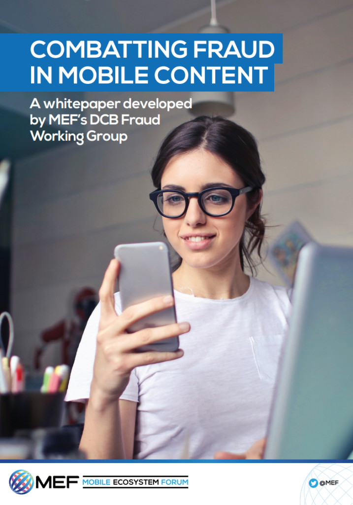 MEF Whitepaper: Combatting Fraud in Mobile Content