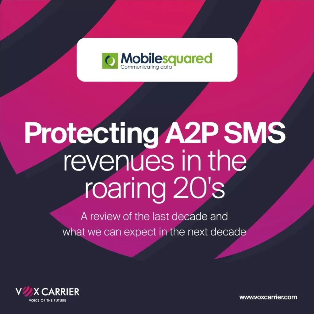 Mobilesquared: Protecting A2P SMS revenues in the roaring 20's