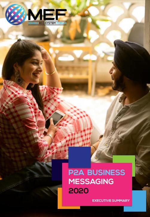P2A Business Messaging 2020