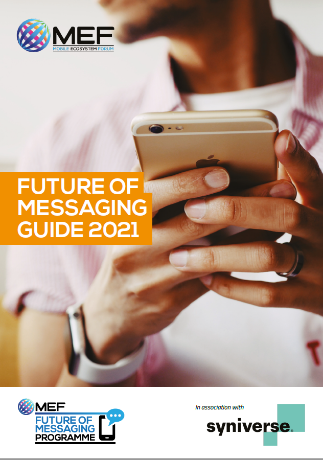 MEF's Future of Messaging Guide 2021