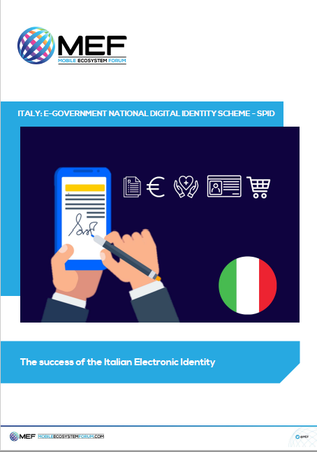 Italy: E-Government National Digital Identity Scheme - SPID